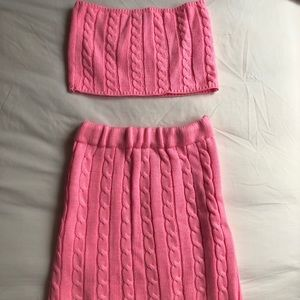 PINK MATCHING SET FROM PRETTYLITTLETHING